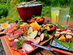 【公式ページ限定】 厳選食材のゴージャスバーベキュー